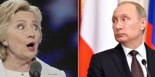 Hillary Clinton accusa Putin: