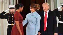 Melania ricorda lo stile di Jacqueline Kennedy e strappa lo scettro a