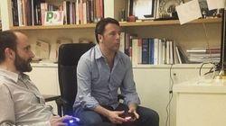Dalla playstation al calcio balilla, Renzi è ormai prigioniero del suo