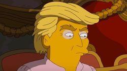I Simpson vi mostrano Trump come non l'avete mai