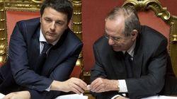 Legge di bilancio: Renzi e Padoan, la corsa per far quadrare i conti a Bruxelles e a