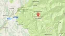 I Comuni più colpiti dal sisma: un'area di 2500