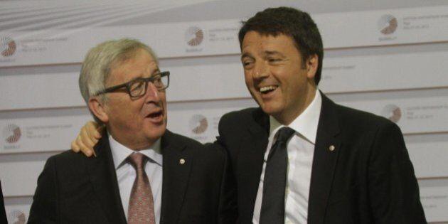 Ue, ecco cosa vuole Bruxelles da Renzi: dimezzare le richieste di flessibilità e 300 milioni per