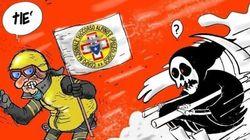 Questa vignetta è la migliore risposta all'ironia di Charlie Hebdo sull'hotel