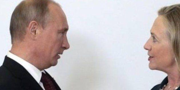 Hilary Clinton accusa Mosca sul caso delle mail. Cremlino: