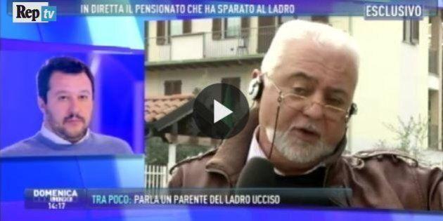 Francesco Sicignano, il pensionato che ha ucciso il ladro, a 'Domenica Live':
