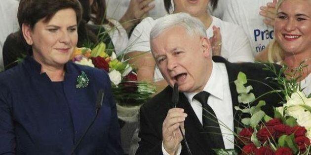 Elezioni Polonia, destra nazionalista anti-Ue Pis di Jaroslaw Kaczysnski vince. La sinistra fuori dal
