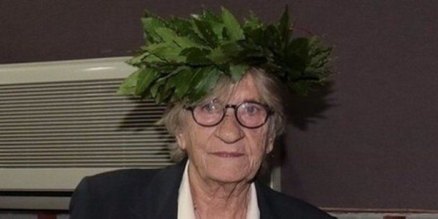 Giulia laureata a 79 anni: