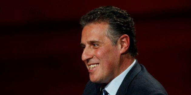 Italian anti-mafia magistrate Nino Di Matteo attends the taping of the Italian State RAI TV