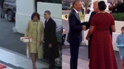 La differenza di stile tra Trump e Obama è tutta in questa