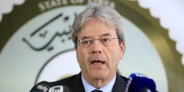 Libia, dopo l'intervento Usa Paolo Gentiloni precisa: