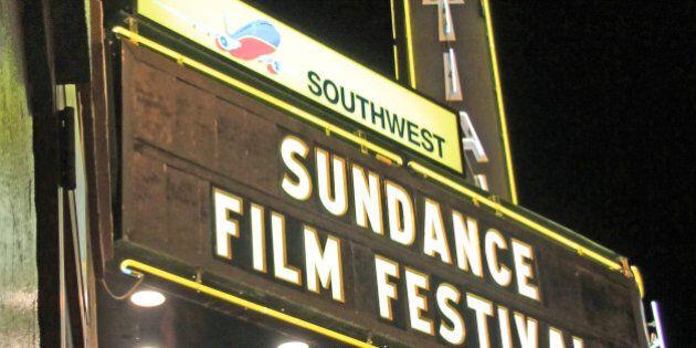 During Sundance Film Festival in Park City,