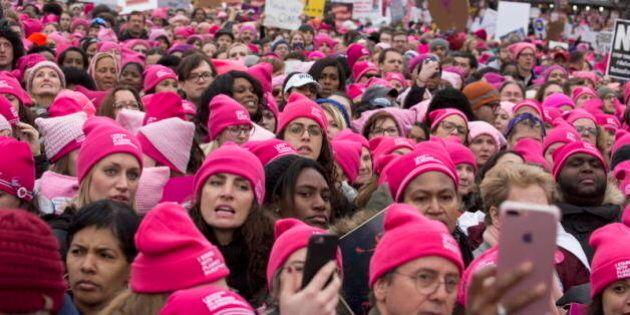 Pussy-hats in marcia, nuova politica contro