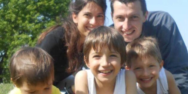Linda Maggiori, moglie e mamma di tre figli: