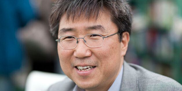 HAY-ON-WYE, UNITED KINGDOM - MAY 29: Ha-Joon Chang, economist, attends the Hay Festival on May 29, 2011 in Hay-on-Wye, Wales.