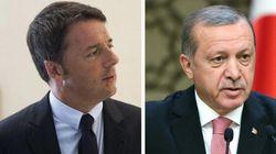 Renzi risponde a muso duro a Erdogan: