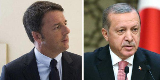 Matteo Renzi risponde a Erdogan: giudici italiani rispondono alle leggi non al presidente