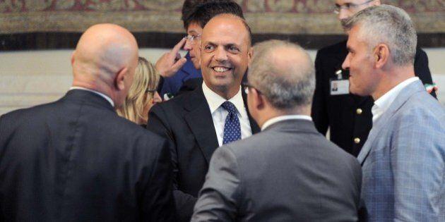 Angelino Alfano e Denis Verdini: prove di unità sul