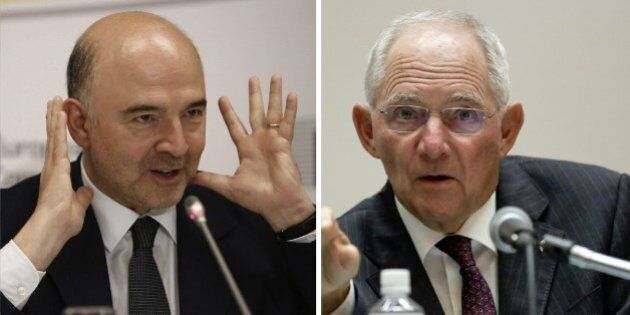 Ue, Pierre Moscovici contro Wolfgang Schauble: