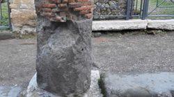 Pompei crolla