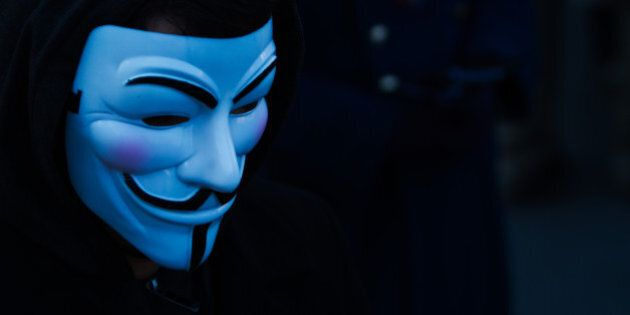 We are Anonymous. We are Legion. We do not forgive. We do not forget. Expect