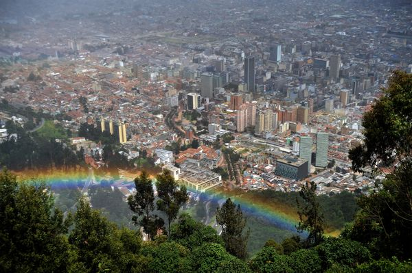Bogota is progressing rapidly toward leading cities in human capital because of improvements in security and stability, respe