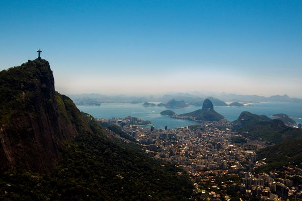 Another Latin American city to make the top 10 emerging global cities was Brazil's Rio de Janeiro. <br> <em>View of Rio de Ja
