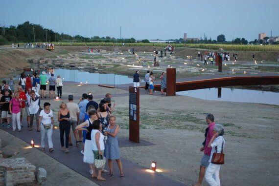 Franceschini all'inaugurazione del porto di Classe: tutela e valorizzazione non sono in