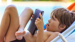 Il tablet per i bambini? Non più di mezz'ora al