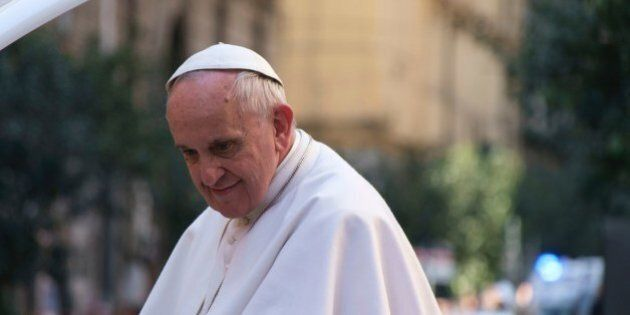 Pope Francis during his visit to Naples,