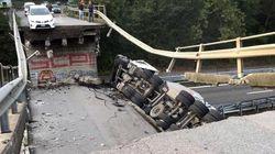 Crolla un cavalcavia sulla statale Milano-Lecco: un morto e cinque