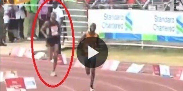 Il maratoneta imbroglione si nasconde tra il pubblico e corre solo lo sprint. Arriva secondo ma viene...
