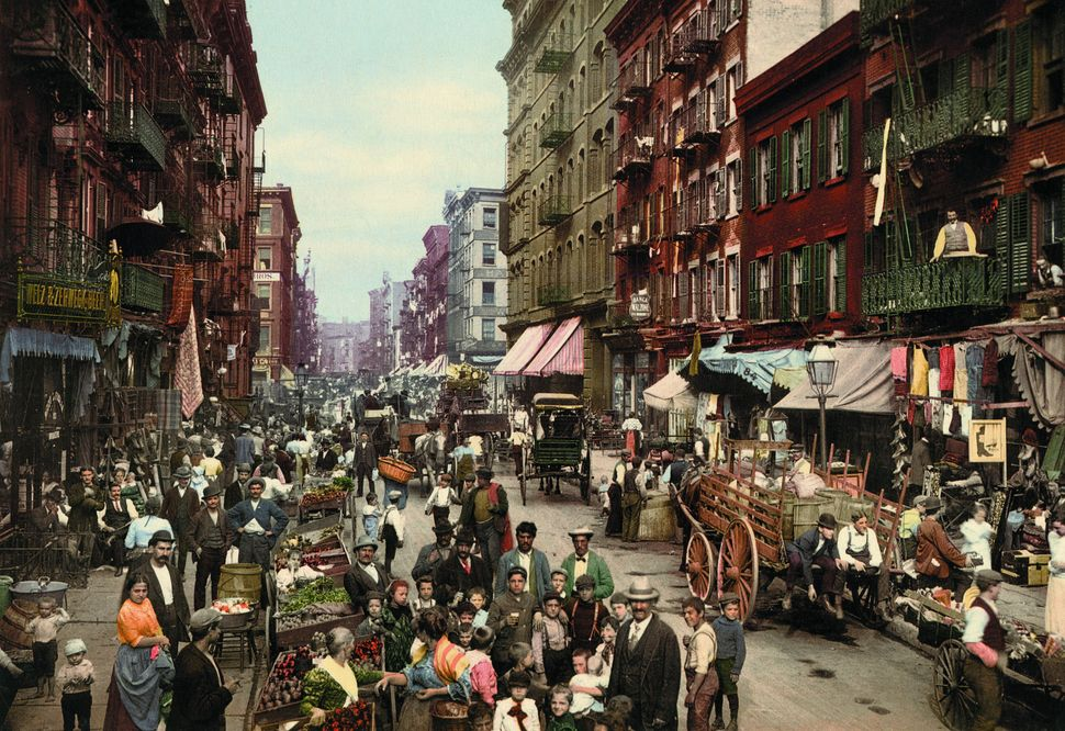 Mulberry Street, New York.
