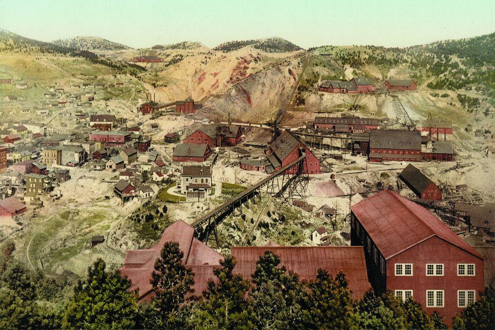 Homestake mine, South Dakota.