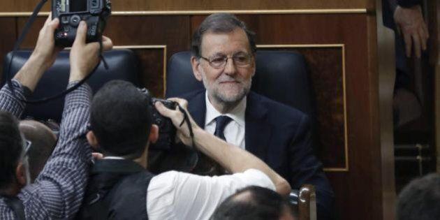 Mariano Rajoy ottiene la fiducia ed è di nuovo primo ministro in