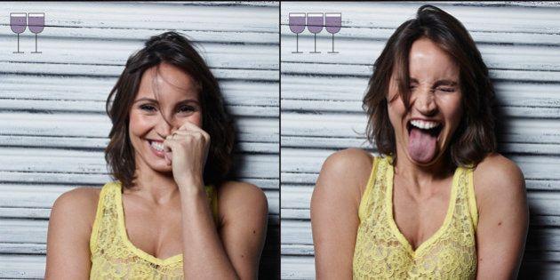 Come cambiano le facce delle persone dopo il primo, il secondo e il terzo bicchiere di vino. Il fotoprogetto...
