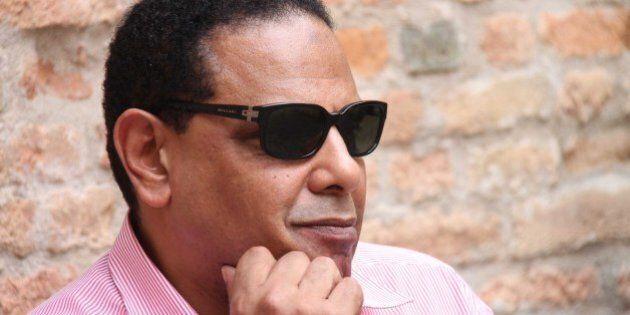 Lo scrittore egiziano Alaa Al-Aswani:
