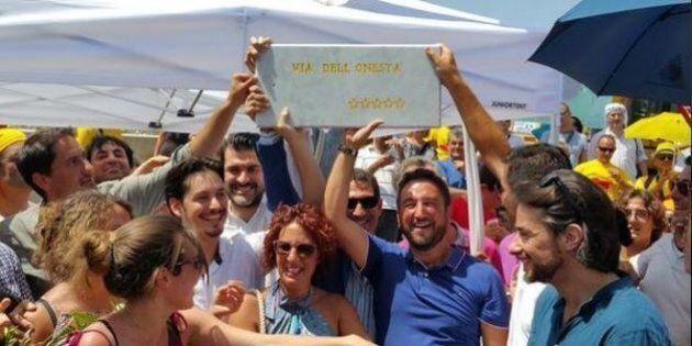 #Trazzeraora, M5S inaugura bretella sulla Palermo-Catania per bypassare il viadotto crollato. Finanziata...