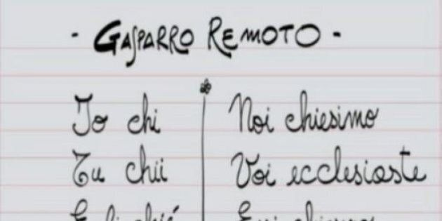Diego Bianchi sfotte Maurizio Gasparri per i tweet sgrammaticati. E il senatore replica: