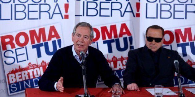 Roma, Silvio Berlusconi avanti con Guido Bertolaso in attesa dei sondaggi. Forza Italia spaccata, fronda...
