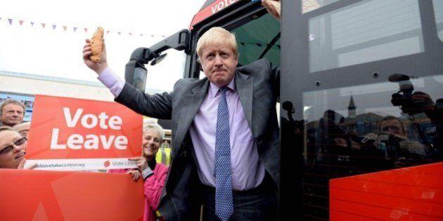 Boris Johnson choc nella sua campagna per la Brexit: