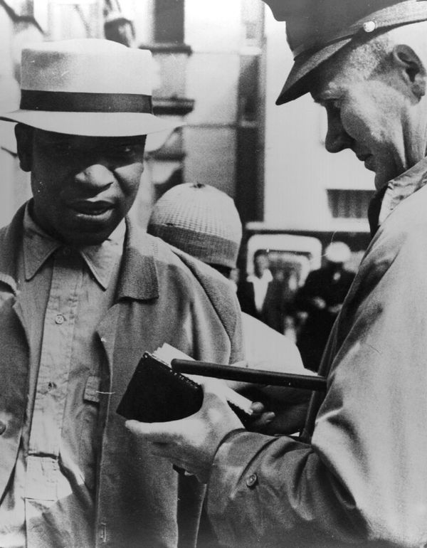 Throughout the 1950s, several laws restrict the day-to-day lives of blacks in all areas of life --  from marriage to access t