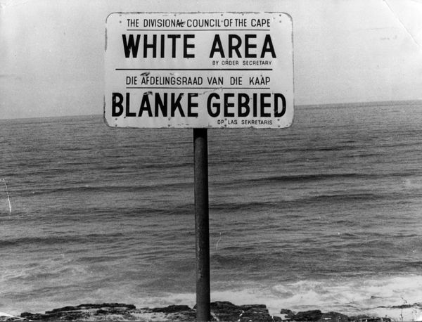 """In 1970, the Bantu Homelands Citizenship Act declares all native Africans to be citizens of one of the 10 """"homelands,"""" rather"""