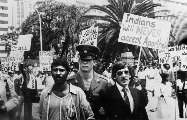The South African regime faces significant internal pressure throughout the 1980s. Prime Minister P. W. Botha attempts to app