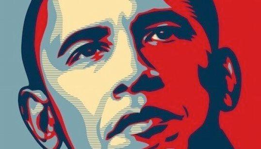 Con questo manifesto rese trendy Obama. Ora è in mostra in