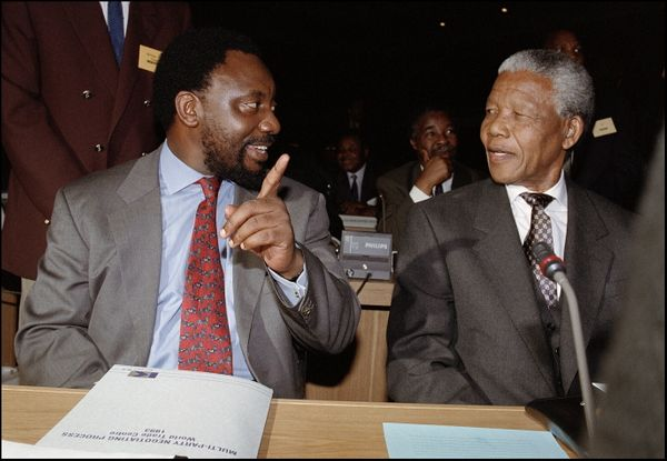 """Three centuries of white rule in South Africa come to an end in December 1993, when parliament approves an <a href=""""http://ww"""