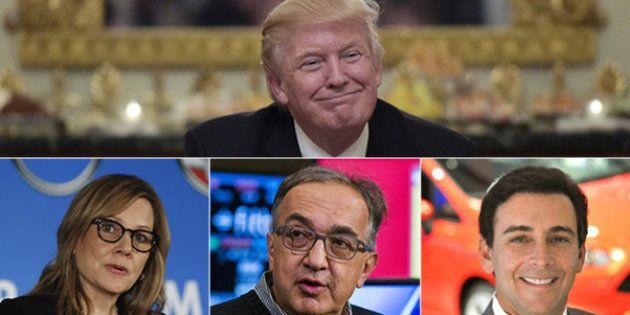Trump e Marchionne uniti nella svolta anti-ambientale. Che ne pensano Grillo e