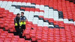Annullata l'ultima partita del Manchester per un allarme