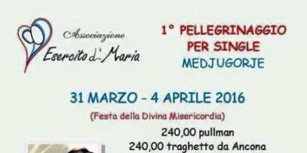 Pellegrinaggio a Medjugorje per single: