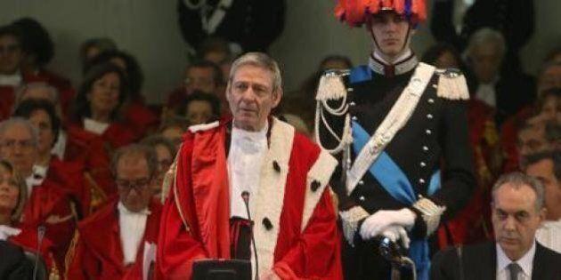Apertura anno giudiziario, il presidente Canzio tira una bordata ai